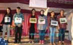 عرض مسرحية للأطفال بمؤسسة المنطق للتعليم الخصوصي ببني انصار