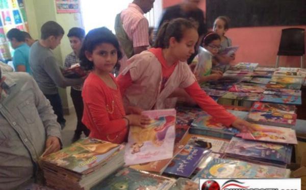 مبادرة  ثقافية لمؤسسة البكري للتعليم الإبتدائي ببني انصار