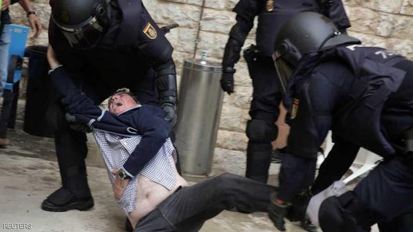 الكاتالونيين  90 في المائة  صوتوا لصالح الانفصال عن إسبانيا