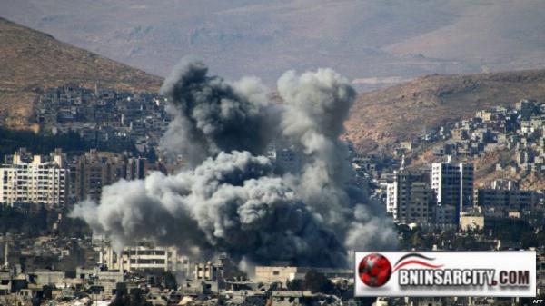 الجيش الإسرائيلي يقصف غزة