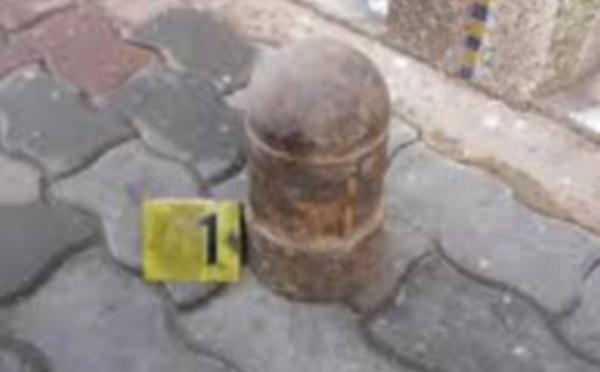 اكتشاف قنبلة قديمة ضمن عدد من المقتنيات من الخردة