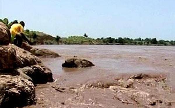 """جزيرة """"المهندس"""" المعروفة محلياً بتسمية """"ثايزاث"""" المطلة على بحيرة مارتشيكا تغمرها المياه / فيديو"""