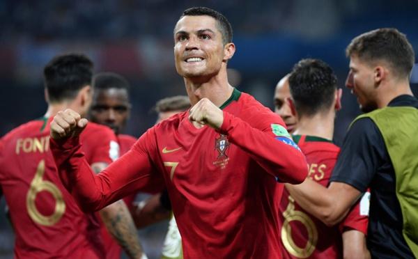 ملخص مباراة البرتغال واسبانيا 3-3 ; مباراة الجنون وتألق رونالدو/ فيديو