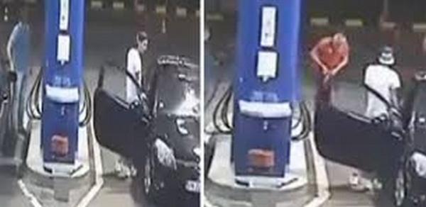 جريمة قتل بشعة راح ضحيتها عامل شاب بمحطة للوقود