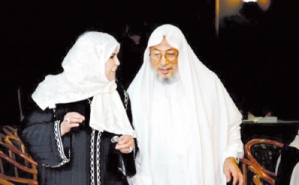 يوسف القرضاوي يحاول إثبات الطلاق وزوجته الجزائرية تطالب بقياس الضرر