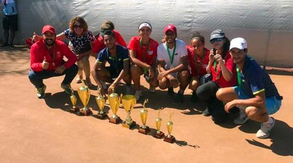 المغرب يحتل المركز الأول في ترتيب نهائيات كأس إفريقيا للأمم الخاصة  لكرة المضرب