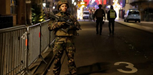 هجوم ارهابي بستراسبورغ بفرنسا