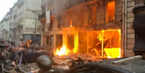 عاجل: انفجار قوي في باريس..ضحايا ومفقودين وحالة هلع ونيران