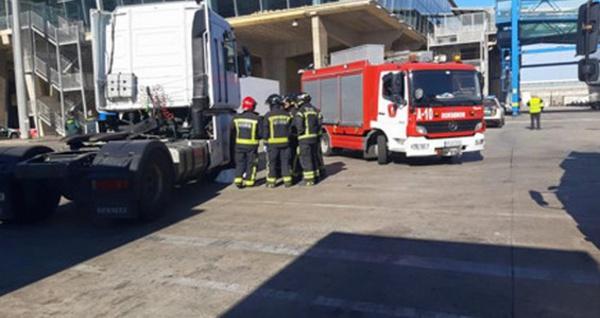 وفاة شاب مغاربي تحت عجلات شاحنة كبيرة بميناء مدينة مليلية