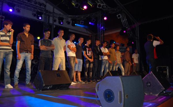 تألق مواهب بني أنصار في مهرجان جولة