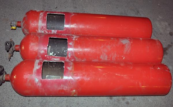 بني انصار: حجز 88 كيلوغراما من الشيرا وضعت داخل قوارير غاز لتهريبها
