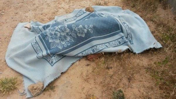 جثة سيدة في الثلاثينيات يعثر عليها بحفرة لتمرير قناة تصريف مياه الأمطار