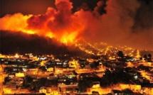 عاجل : إسارائيل تحترق/ فيديو