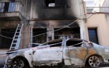 احراق سيارات ومنازل مغاربة باقليم كاتالونيا