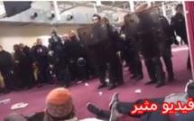 الله أكبر: هتافات بعد اخلاء مسجد بالقوة في  شمال فرنسا / فيديو