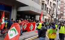 مسيرة حاشدة  مليونية ببرشلونة لدعم الحراك الشعبي بالريف/ فيديو
