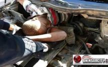 """سيارة """"مقاتلة"""" تقتحم مليلية المحتلة بداخلها أربعة مهاجرين أفارقة ينحدرون من دول جنوب الصحراء"""