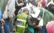 معبر بني انصار: نقل سيدة الى المستشفى بعد إصابتها بانهيار عصبي اثر القبض عليها من طرف الشرطة وهي تهرب الخمور