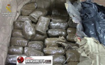 Puerto de Melilla;la Guardia Civil  se incauta de 28 kilos de hachís
