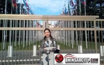 الأستاذة كوثر بدران تقدم مشروع الدليل القانوني الدولي لحقوق المرأة إلى مجلس الامم المتحدة