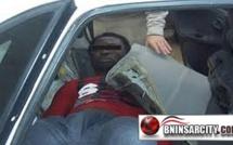 شرطة المعبر الحدودي مليلية/بني انصار تضبط سيدة متلبسة بمحاولة تهريب مهاجر سري داخل تجويف سيارتها