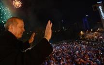 الرئيس التركي رجب طيب أردوغان في خطاب النصر: لن نركع لأية قوة بشرية في العالم