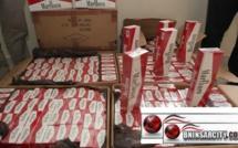 شرطة  المعبر الحدودي باب مليلية/ ببني انصار: إيقاف مواطنا مغربيا بحوزته 1400 علبة سجائر من نوع ماربورو من صنع جزائري