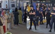 معبر مليلية / فرخانة: السلطات السبانية تمنع ممتهني التهريب وتهينهم