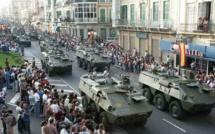 مليلية المحتلة: احتفال ضخم بمناسبة الذكرى 521  لاحتلال المدينة من طرف الجيش الاسباني