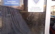 معبر بني انصار الحدودي:  اعتداء خطير على رجال الجمارك