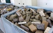 الشرطة الإسبانية تحجز 5 أطنان ونصف من الحشيش المغربي