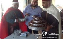 """إفتتاح مقهى ومطعم """" دبي """" بمواصفات عالية ببني انصار"""