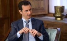 الرئيس السوري بشار الأسد  : يؤكد انه لا يستبعد تدخل بري سعودي وتركي في سوريا